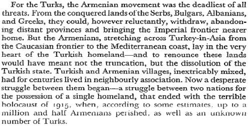 Գրքի այն հատվածը, որտեղ հեղինակը խոսում է Հայոց ցեղասպանության մասին (էջ 356):