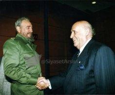 Ս. Դեմիրելն ու Կուբայի առաջնորդ Ֆ. Կաստրոն