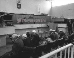 Նամազ՝ դատավարության ժամանակ ու դատավարության սրահում 1970-ականների Թուրքիայում